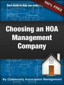 Choosing the Right HOA Management Company